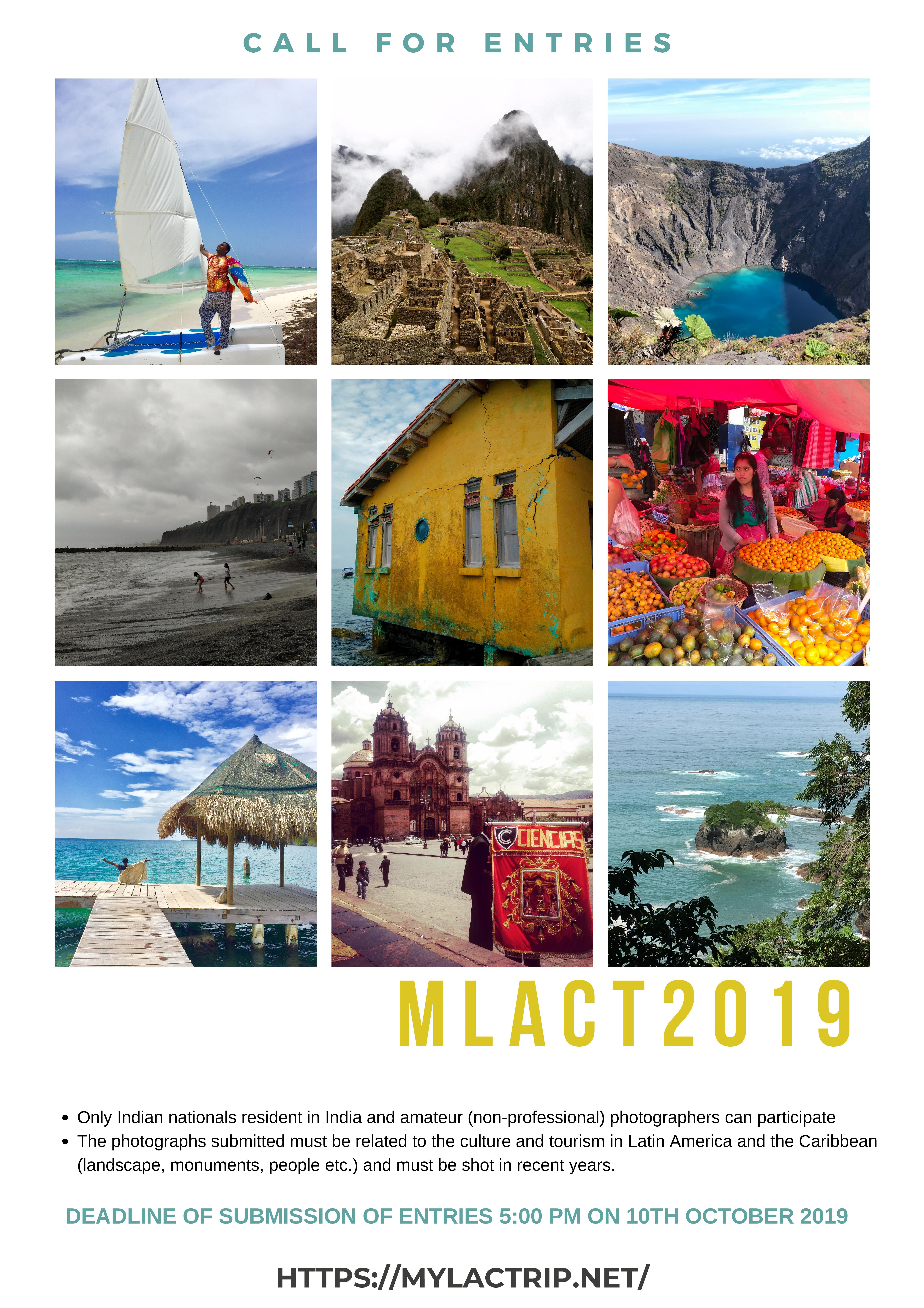 "Call For Entries: ""My Latin-American and Caribbean Trip ..."