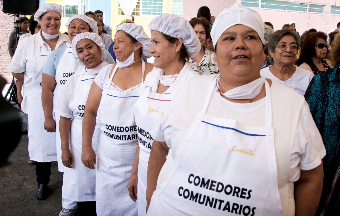 Comedores Comunitarios Sedesol