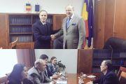 Reunión con el Senador Cristian Dumitrescu, Presidente de la Comisión de Política Exterior del Senado