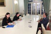 Reunión con la Secretaria de Estado para Asuntos Globales Bilaterales