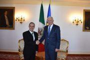 Reunión del Embajador con el Ministro de Asuntos Exteriores, Teodor Meleșcanu