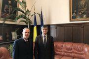 Reunión con el Rector de la Universidad de Bucarest, prof. univ. dr. Mircea Dumitru