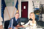 Reunión con la Secretaria de Estado del Ministerio de Turismo, Cristina Tărteață