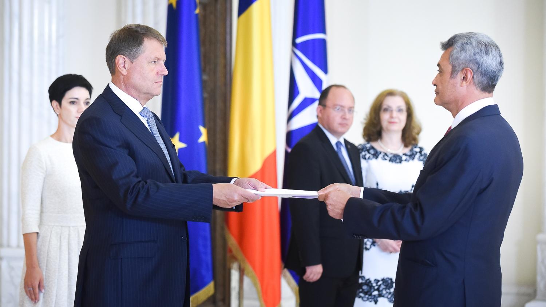 The Ambassador Arturo Trejo Presented The Credentials To The